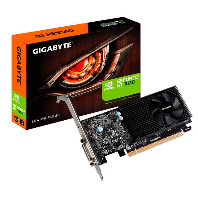 Placa de Video Gigabyte NVIDIA GeForce GT 1030 LP 2Gb GDDR5