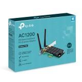 Placa de Red WiFi TP-Link Archer T4E PCIE Dual Band AC1200