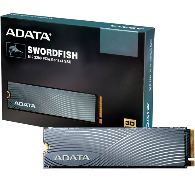 Disco SSD M2 ADATA 500Gb SWORDFISH NVME