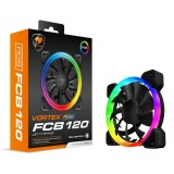 Cooler Fan Cougar Vortex FCB 120mm RGB (Requiere Controladora)