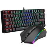 Kit Teclado y Mouse Redragon K552RGB-BA-SP (K552 RGB + M607 RGB)