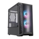Gabinete Cooler Master MasterBox MB320L ARGB 2x12cm MICRO ATX + Controladora ARGB