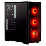 Gabinete Corsair Carbide SPEC Delta RGB Templado 3x120mm