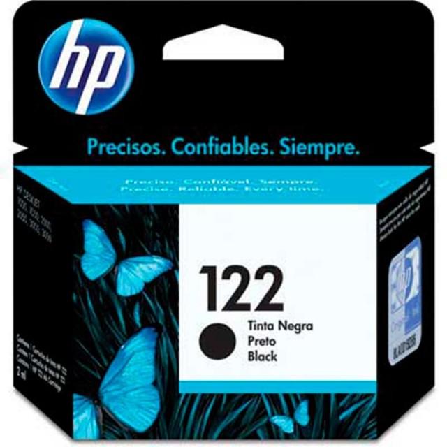 Cartucho HP 122 Negro CH561HL (120 Pág.)
