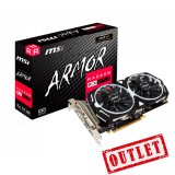 Placa de Video MSI AMD Radeon RX 570 ARMOR 4Gb GDDR5 REFURBISHED
