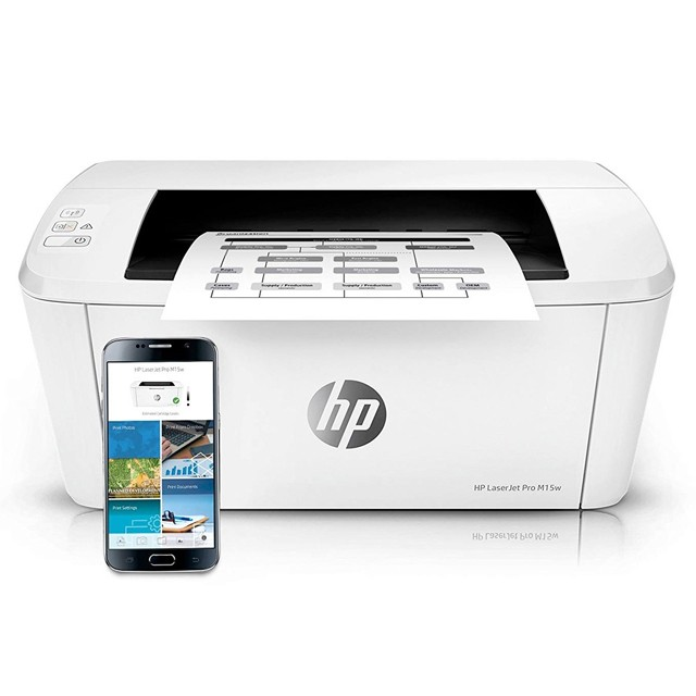 Impresora Laser HP M15W WiFi Monocromática