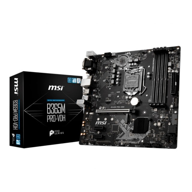 Mother MSI B365M PRO-VDH (8va/9na Gen) S1151