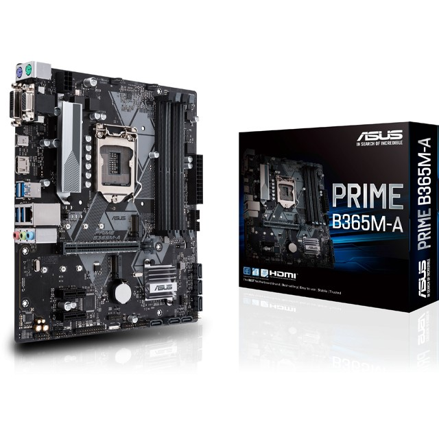 Mother ASUS PRIME B365M-A (8va/9na Gen) S1151
