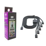 Cooler Master Splitter 5 a 1 ARGB Cable