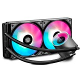 Cooler CPU Water Cooling Deep Cool Castle 240 RGB V2 Gamer Storm Intel/AMD