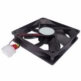 Cooler Fan 120MM Negro Molex 12Cm