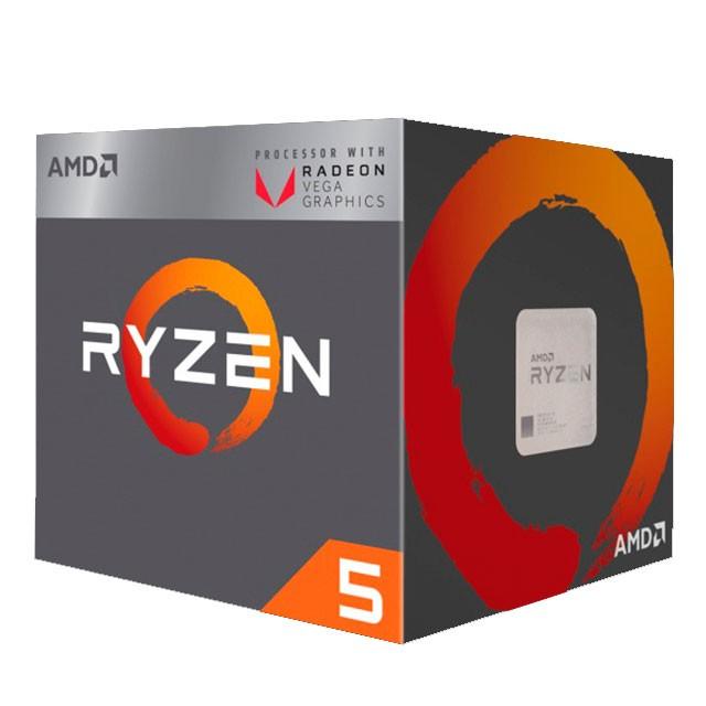 Micro AMD Ryzen 5 2400G QuadCore + Vega 11 AM4 BOX