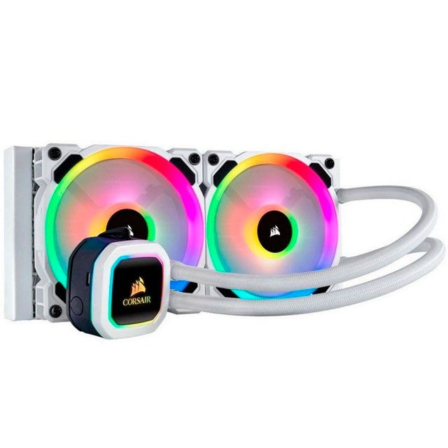 Cooler CPU Water Cooling Corsair H100i Platinum SE 240mm Intel/AMD