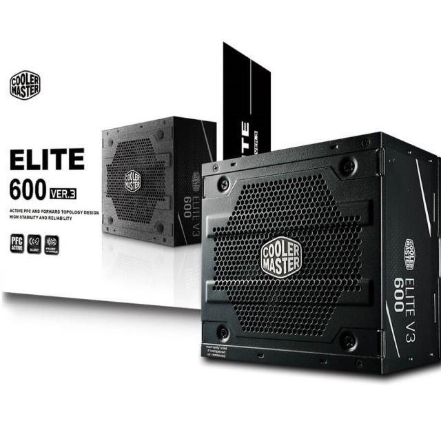 Fuente Cooler Master Elite V3 600W