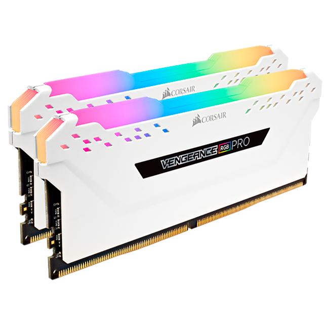 Memoria RAM Corsair 16Gb (2x8Gb) DDR4 3600Mhz Vengeance Pro RGB White