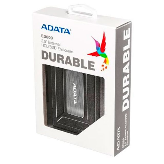 Carry Disk Carcasa ADATA HDD / SSD 2.5 ED600 USB 3.1