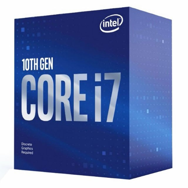 Micro Intel Core I7 10700F 8 Núcleos / 16 Threads HT 4.8Ghz (10ma Gen) LGA1200