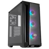 GABINETE COOLER MASTER MASTERBOX MB520 ARGB 4X12CM + CONTROLADORA