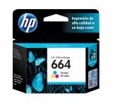 Cartucho HP 664 Color HEWF6V28AL