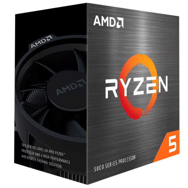 Micro AMD Ryzen 5 5600X - 6 Núcleos / 12 Threads 4.6Ghz AM4