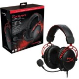 Auriculares HyperX Cloud Alpha Gaming Red Headset PC/PS4/XBOX/Switch