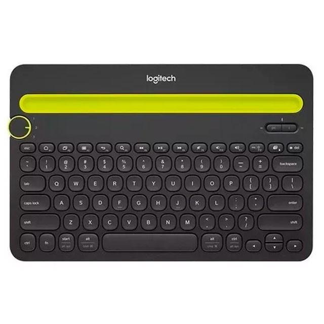 Teclado Logitech K480 Bluetooth Black Multi Dispositivo
