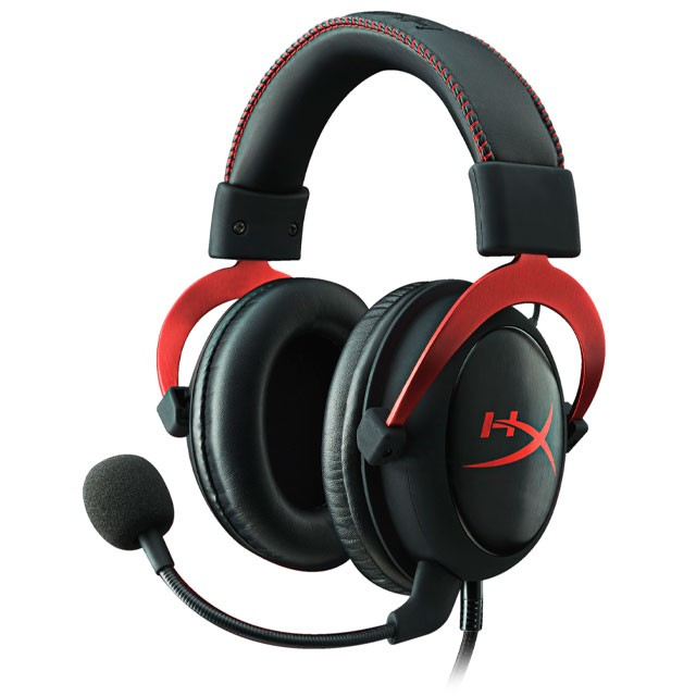 Auriculares HyperX Cloud II 7.1 Gaming Headset Red USB/3.5mm PC/PS4/XBOX/Switch