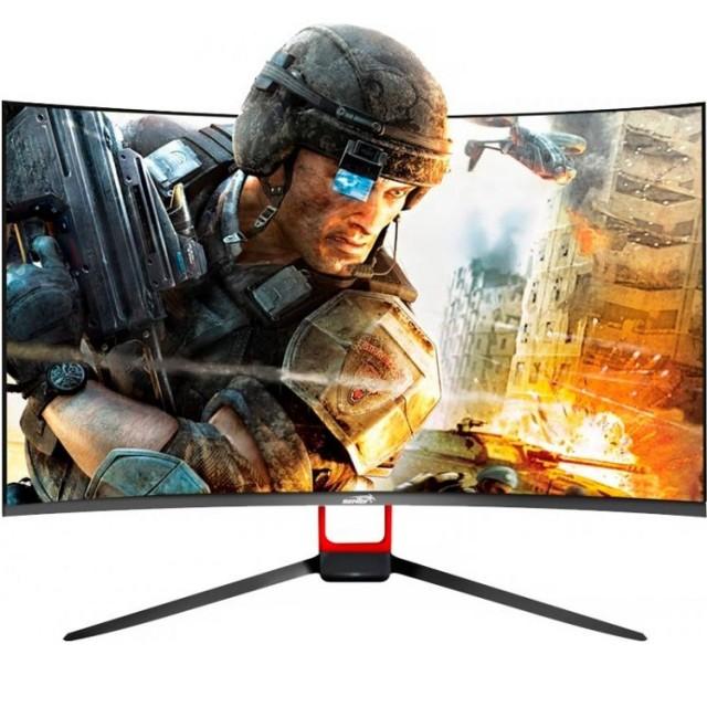 Monitor Sentey LED 27' Curvo 165Hz MS-2711 Audio HDMI/DP