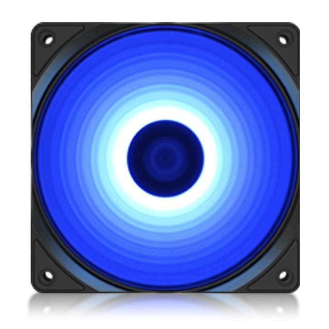 Cooler Fan Deep Cool 120MM RF120 B LED Azul