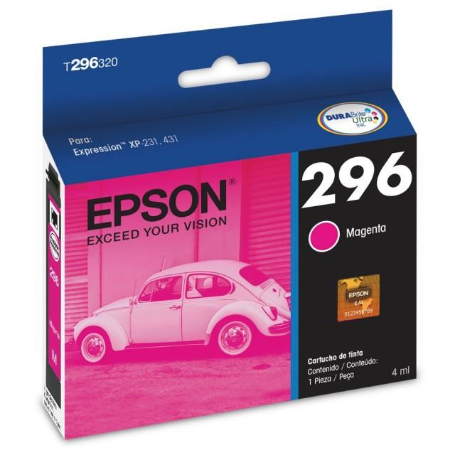 Cartucho Epson T296 Magenta T296320