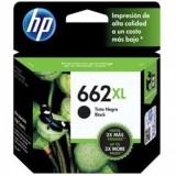 Cartucho HP 662 XL Negro Alta Capacidad