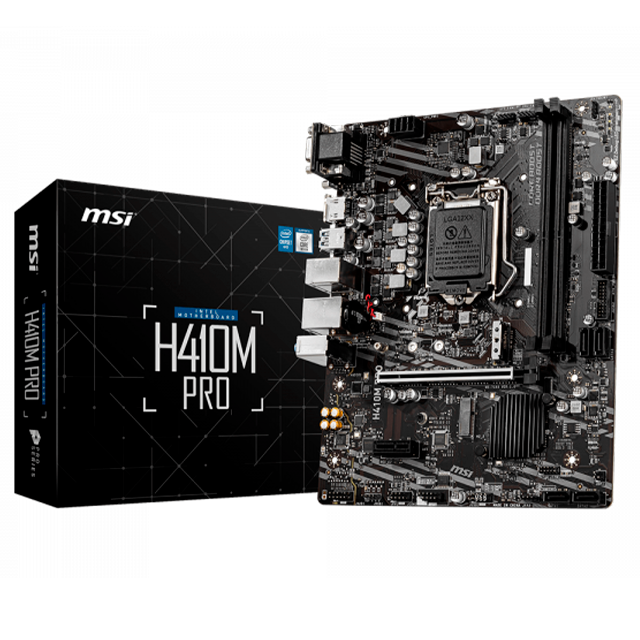 Mother MSI H410M PRO (10ma Gen) LGA1200