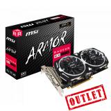 Placa de Video MSI AMD Radeon RX 570 ARMOR OC 4Gb GDDR5 OUTLET