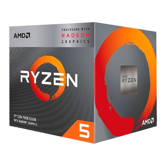 Micro AMD Ryzen 5 3400G QuadCore + Vega 11 AM4 BOX