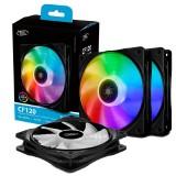 Cooler Fan KIT Deep Cool CF120 ARGB (3x120mm + Controladora)