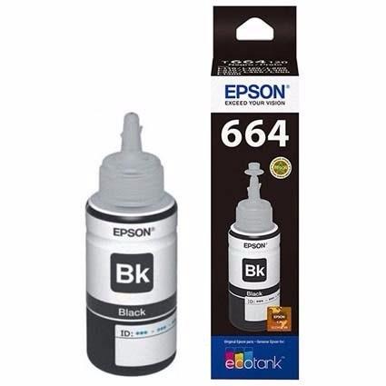 Tinta Epson T664 Negro T664120