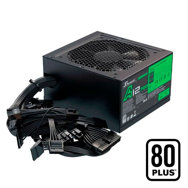 Fuente Seasonic 500W A12-500 80 Plus
