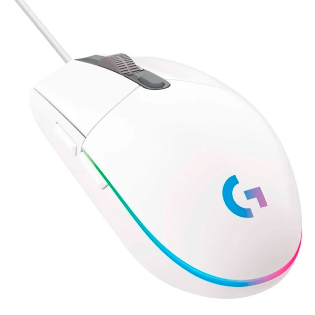 Mouse Logitech G203 Gaming Lightsync RGB Blanco 8000 DPI