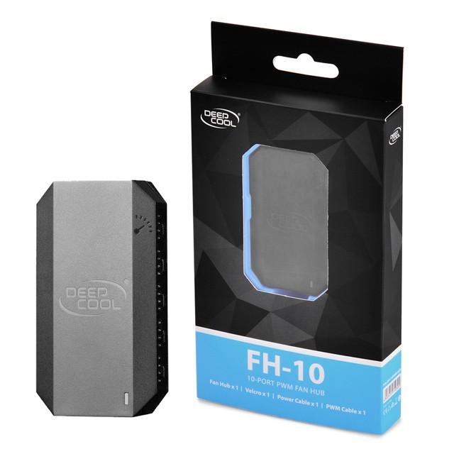Fan HUB Coolers Deep Cool FH-10 (HUB 10 a 1)