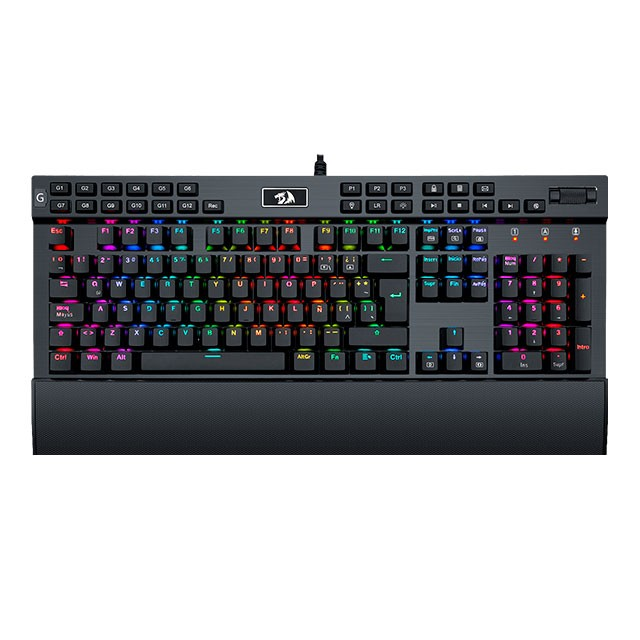 Teclado Redragon YAMA K550 Black RGB Mecánico Switch Purple