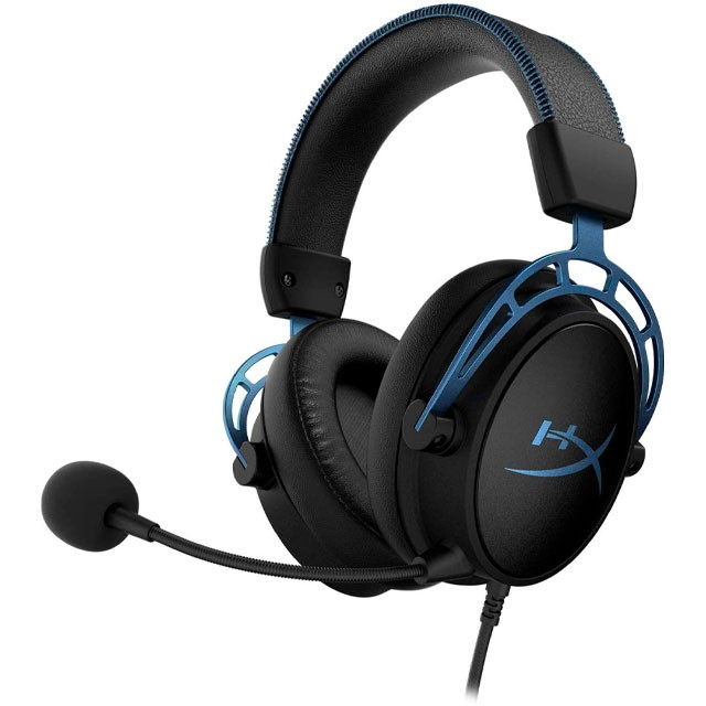 Auriculares HyperX Cloud Alpha S 7.1 Gaming Headset Blue USB PC