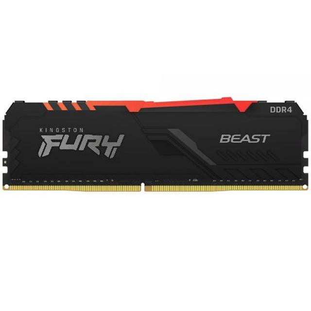 Memoria RAM Kingston 16GB DDR4 3200Mhz Fury Beast RGB