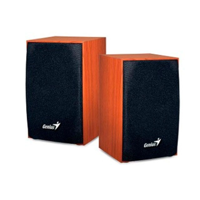 Parlantes Genius SP-HF180 Wood USB 6 Watt