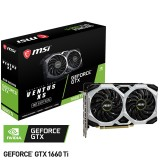 Placa de Video MSI NVIDIA GeForce GTX1660TI Ventus XS 6Gb GDDR6