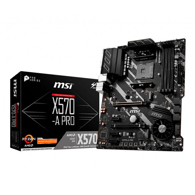 Mother MSI X570-A PRO AM4