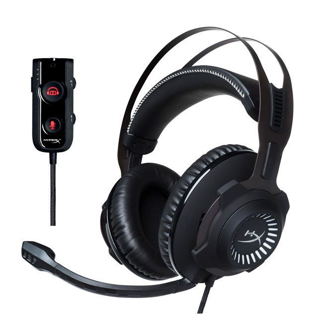 Auriculares HyperX Cloud Revolver S 7.1 Gaming Headset Black USB/3.5mm PC/PS4/XBOX/Switch