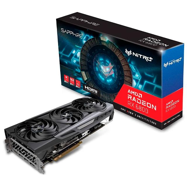 Placa de Video Sapphire Radeon RX 6800 NITRO+ 16Gb GDDR6