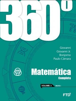 360° Matemática Completa - Vol. 3