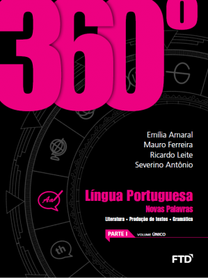 360° Língua Portuguesa - Novas Palavras - Volume Único