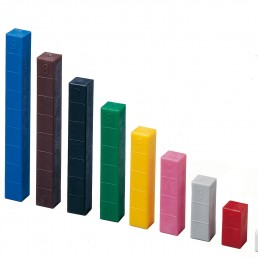 SET DE BARRAS CUISENAIRE